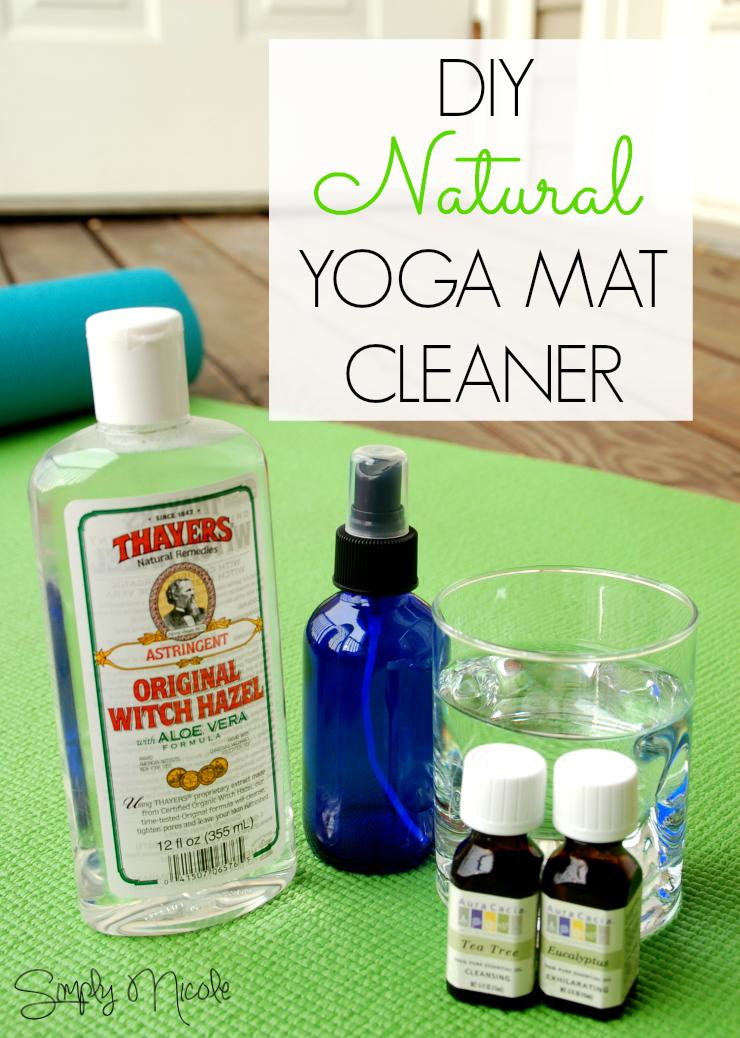 Diy Natural Yoga Mat Cleaner Simply Nicole